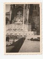 PHOTO - FOUGERES - REPOSOIR DEVANT L'EGLISE ST LEONARD POUR LE CONGRES EUCHARISTIQUE 1938 - 35 - Lieux