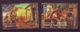 AUSTRALIA • 2017 • Henry Lawson: 1867-1922 • MNH (2) - Mint Stamps
