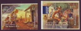 AUSTRALIA • 2017 • Henry Lawson: 1867-1922 - Peel And Stick • MNH (2) - Mint Stamps