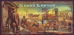 AUSTRALIA • 2017 • Henry Lawson: 1867-1922 - Minisheet • MNH (1) - Mint Stamps
