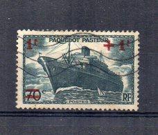 Francia - 1941 - Varo Del Piroscafo Pasteur - 1+1f. Su 70 C. - Usato - (FDC15157) - Francia