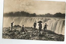 Afrique Du Sud Zambie Victoria Falls Timbre 1 1/2 D Animée 1938 - Zambie