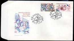 CZECHOSLOVAKIA 1978 Political Anniversaries FDC.  Michel 2423-24 - FDC