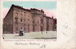 Torino - Palazzo Carignano - Fp Vg1906 - Palazzo Carignano