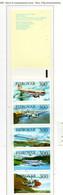 PIA  -  FAROER  -  1985  : Carnet Da 15,00 Kr - Aerei Ed Elicotteri -  (Yv C 119) - Isole Faroer