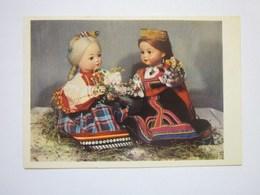 Dolls Russian National Costumes - Jeux Et Jouets