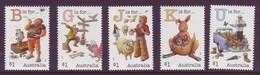 AUSTRALIA • 2017 • Fair Dinkum Aussie Alphabet (Part 3) • MNH (5) - 2010-... Elizabeth II