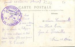 N°72283 -cachet 1er Régiment Du Génie - Postmark Collection (Covers)