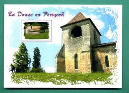 24 La Douze En Périgord Eglise - Autres Communes