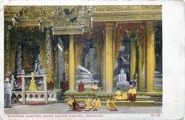 Myanmar - Birmanie - Burmese Carving , Shwe Dagon Pagoda , Rangoon - N° 30 - Myanmar (Burma)