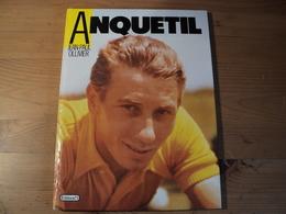 ANQUETIL. 1987. JEAN PAUL OLLIVIER. EDITION N°1 QUINCAMPOIX / PRIX MAURICE LATOUR / MAILLOT DES AS DE PARIS NORMANDIE / - Cycling