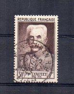 Francia - 1953 - Celebrità - Marechal Lyautey - Usato - (FDC15159) - Francia