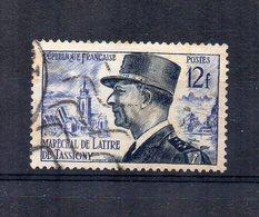 Francia - 1954 - Maresciallo De Lattre De Tassigny - Usato - (FDC15160) - Francia