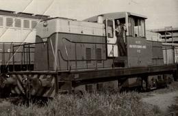 Photographie D'une Locomotive A.G.P. Puerto Buenos Aires 115 - Reproduction - Reproductions