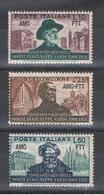 TRIESTE A:  1951  G. VERDI  -  S. CPL. 3  VAL. N. -  SASS. 135/37 - Trieste
