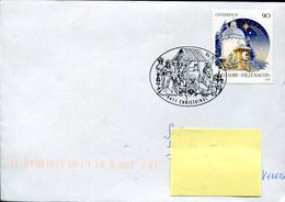 44553 Austria, Special Postmark  6.1.2019 Christkindl,  Circuled Cover - Christianisme