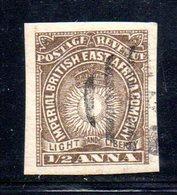 APR604 - AFRICA ORIENTALE BRITANNICA 1890, Tre Valori Usati (2380A) - Afrique Orientale Britannique