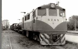 Photographie D'un Train 5763 - Reproduction - Reproductions