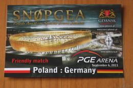 Stadion Energa Gdańsk, Euro 2012 STADE / STADIUM / STADIO : CENTRAL STADIUM - Field - QSL - Stades