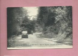 CPA - Forêt De La Neuville En Hez -(Oise) - Route Du Ponchet - Tournants De L'Escargot - France
