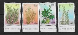 1982 Algérie  N° 762 à 765   Nf** MNH . Flore. Plantes Médicinales. - Algérie (1962-...)
