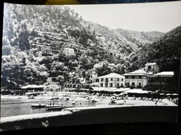 PHOTO ORIGINALE _ VINTAGE SNAPSHOT : COTE _ BAIE _ HOTEL _ ITALIE _ CIRCA 1950      //BtADID - Bateaux