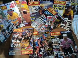 LOT DE 9 CYCLISME INTERNATIONAL. 1998 / 1999 JALABERT / SIX JOURS DE GAND / LANCE ARMSTRONG / VIRENQUE / CASINO / PANTA - Cycling