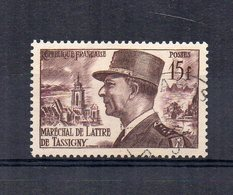 Francia - 1952 - Maresciallo De Lattre De Tassigny - Usato - (FDC15161) - Francia
