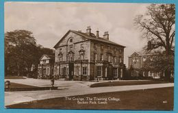 LEEDS  - The Grange. The Training College. Beckett Park - 1936 - Leeds