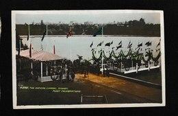 Australia-The Official Landing In Sydney Aug,1908 - Antique Postcard - Australia
