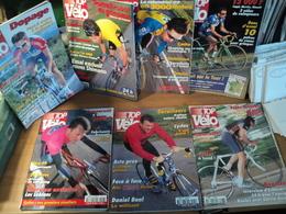LOT DE 7 TOP VELO. 1998 / 1999. CYCLISME TOUR DE FRANCE / PANTANI / RINERO / CASINO / PASCAL HERVE / JEAN MARIE LEBLANC - Cycling