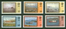 Falkland Islands Dep: 1980/84   Pictorials Set   SG74A-88A  [without Imprint Date]         MH - Falklandinseln