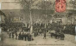 220419A - 19 BEAULIEU Place Du Champ De Mars Un Jour De Foire - Frankrijk