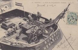 """Seine-Maritime - Dieppe - A Bord Du Paquebot Le """"Sussex"""" - Dieppe"""
