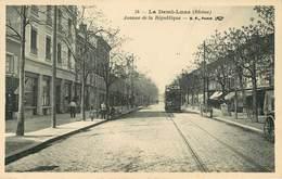 Dép 69 - Chemins De Fer - Tramways - Tramway - Tassin La Demi Lune - La Demi Lune - Avenue De La République - état - Altri Comuni