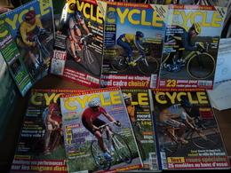 LOT DE 8 MAGAZINE LE CYCLE. 1998 / 1999 TOUR DE FRANCE / L EPERVIER / L AUVERGNATE / L ARDECHOISE / LA EDDY MERCKX EN B - Cycling