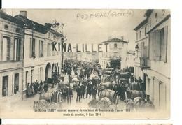 Podensac ( Gironde) Maison Lillet Recevant Un Convoi De Sauternes ( Autre Vue) - Francia