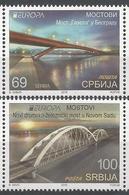 SRB 2018-05 EUROPA CEPT, SERBIA, 1 X 2v, MNH - Serbien
