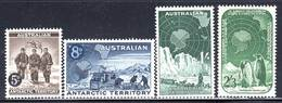 Territoire Antarticque Australien - N°2/5 ** (1959) Série Courante - Neufs