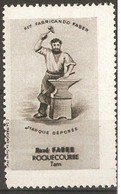 France Vignette - Blacksmith - Commemorative Labels