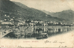 Locarno (Ticino, Svizzera) Muralto, Panorama, Vue Generale, General View, Gesamtansicht - TI Tessin