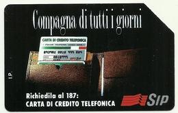 Italia - Tessera Telefonica Da 15.000 Lire N. 215 - Compagna Di Tutti I Giorni - Italia