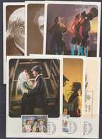 Spain 1982 Zarzuela 6v 6 Maximum Cards (42481) Promotion - Maximum Kaarten