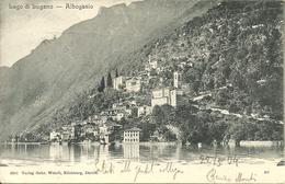 Albogasio (Ticino, Svizzera) Panorama Dal Lago, Vue Generale Prise Du Lac, General View From The Lake, Gesamtansicht - TI Tessin