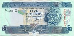 5 DOLLARS 2004 - Isola Salomon