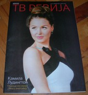 Camilla Luddington Keanu Reeves - TV REVIJA Serbian February 2019 VERY RARE - Books, Magazines, Comics