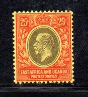 APR615- AFRICA ORIENTALE BRITANNICA 1912,  Yvert N. 139  *  Linguellato. Multi CA  (2380A) - British East Africa