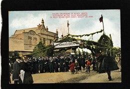 Melbourne,Australia-Sailors Excursions To Black Heath, Aug 22,1908 - Antique Postcard - Australia