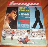 Cassius Clay Aka Muhammad Ali TEMPO Yugoslavian February 1976 VERY RARE - Books, Magazines, Comics