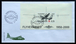 Denmark 2000  Air Force 50 Years MiNr.1259  FDC  ( Lot  Ks) FOGHS COVER - FDC